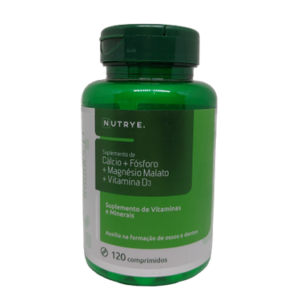 Cálcio + Fósforo + Magnésio Malato + Vitamina D3